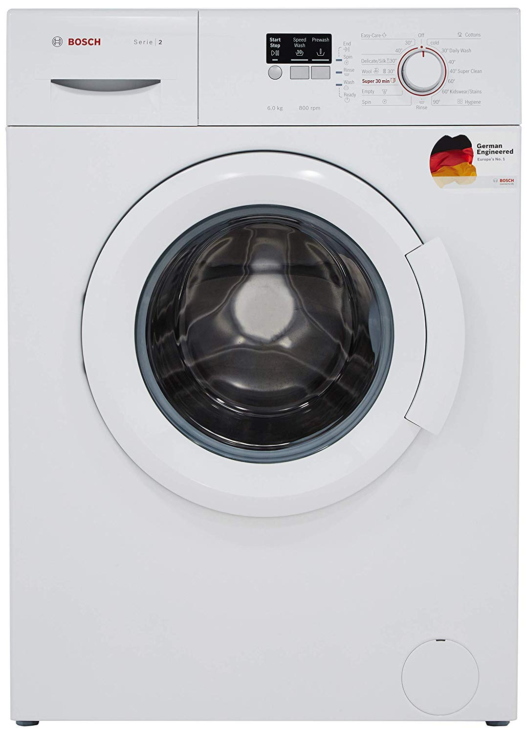 Bosch 6 kg Fully-Automatic Front Loading Washing Machine ...