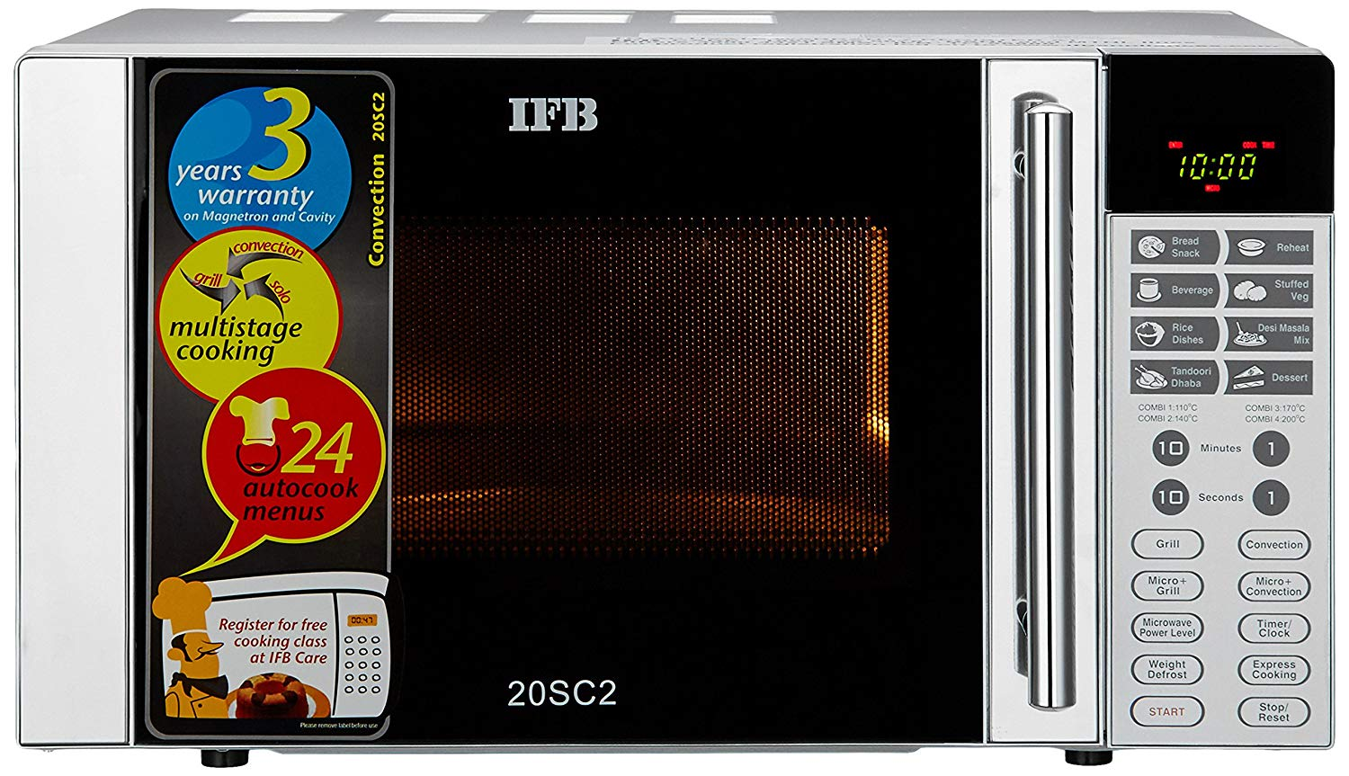 Ifb 20 L Convection Microwave Oven Reviews And Best Price