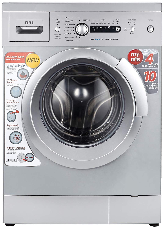 IFB 6 kg Fully-Automatic Front Loading Washing Machine ...