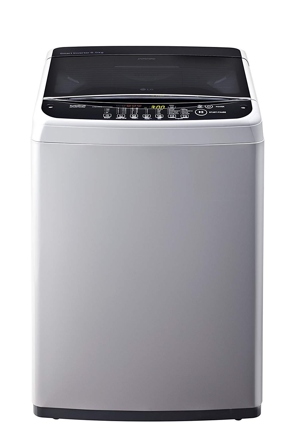 LG 6.5 kg Inverter Fully-Automatic Top Loading Washing ...