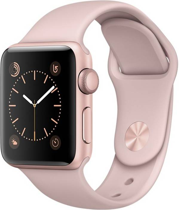Apple Watch Series 1 - 38 mm Rose Gold Aluminium Case with Pink Sand Sport Band
