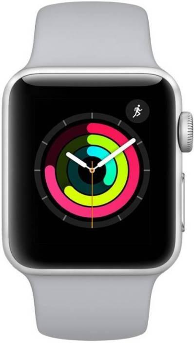 Apple Watch Series 3 42 mm Silver Aluminium White Sport Band(GPS)