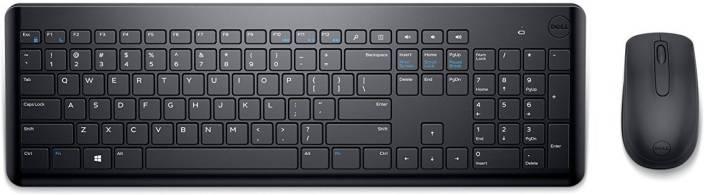 Dell KM 117 Wireless Laptop Keyboard