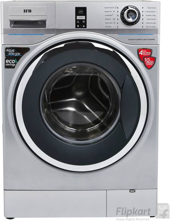 IFB 6.5 kg Fully Automatic Front Load Washing Machine Silver