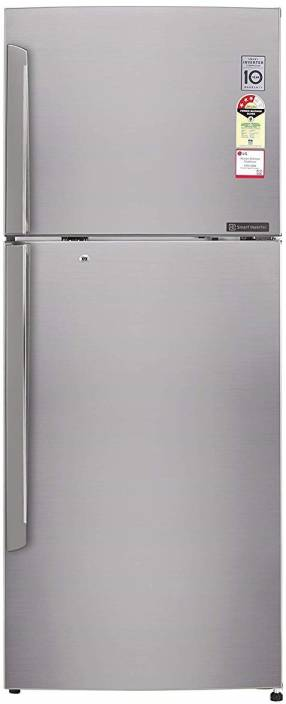 LG 420 L Frost Free Double Door 4 Star Refrigerator