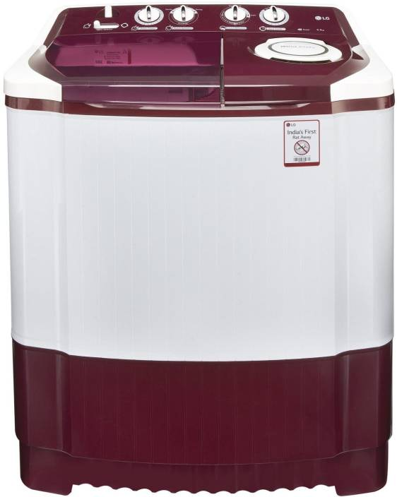 LG 6.5 kg Semi Automatic Top Load Washing Machine Maroon