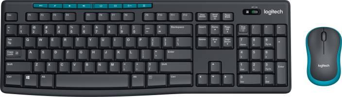 Logitech MK275 Mouse & Wireless Laptop Keyboard