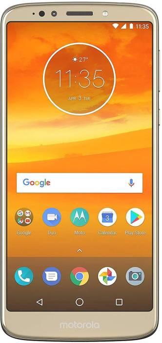 Moto E5 Plus (Fine Gold, 32 GB)