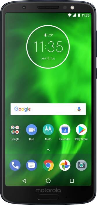 Moto G6 (Indigo Black, 64 GB)