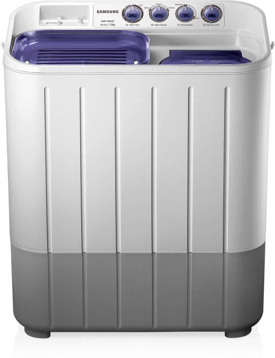 Samsung 7.2 kg Semi Automatic Top Load Washing Machine White