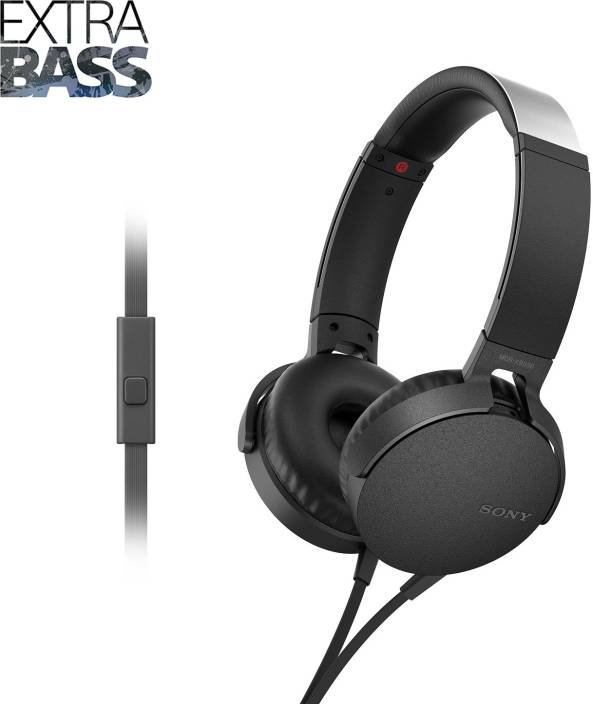 Sony XB550 Wired Headset with Mic
