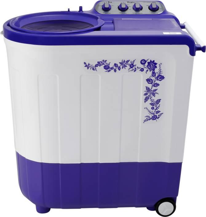 Whirlpool 7.5 kg Semi Automatic Top Load Washing Machine Purple