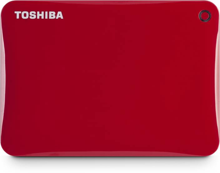 Toshiba Canvio Connect II, USB 3.0 2 TB Wired External Hard Disk Drive