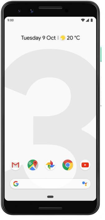 Google Pixel 3 (Clearly White, 64 GB)