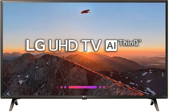 LG Smart 108cm (43 inch) Ultra HD (4K) LED Smart TV 2018 Edition