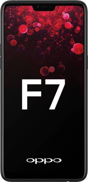 OPPO F7 (Black, 64 GB)