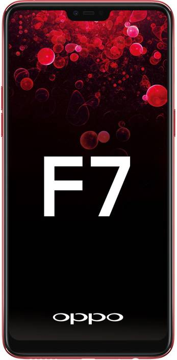 OPPO F7 (Red, 64 GB)