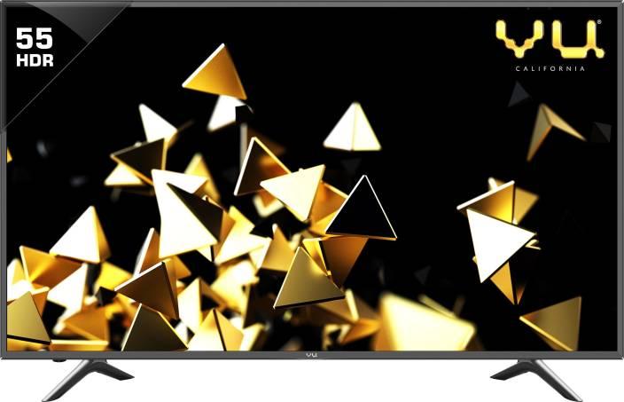 Vu Pixelight 140cm (55 inch) Ultra HD (4K) LED Smart TV
