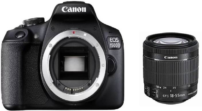 Canon EOS 1500D DSLR Camera Body+ 18-55 mm IS II Lens (16 GB Memory Card & Carry Case)