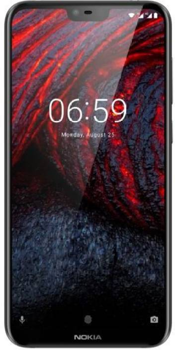 Nokia 6.1 Plus (Black, 64 GB)