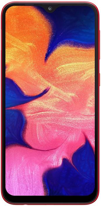Samsung Galaxy A10 (Red, 32 GB)