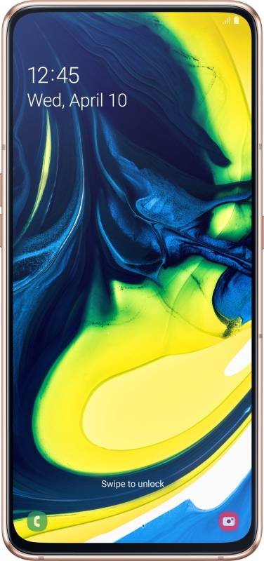 Samsung Galaxy A80 (Angel Gold, 128 GB)