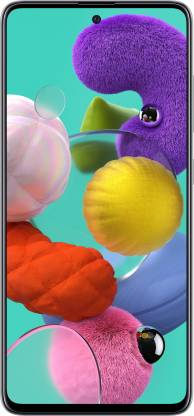 Samsung Galaxy A51 (Prism Crush White, 128 GB)