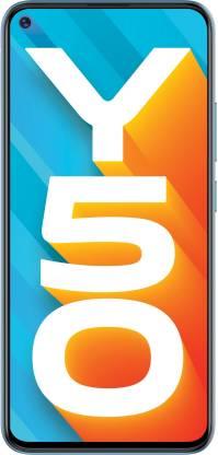 Vivo Y50 (Pearl White, 128 GB)