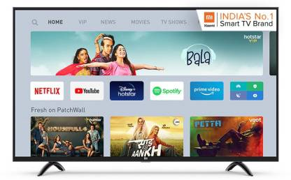 Mi 4A Pro 108 cm (43) Full HD LED Smart Android TV With Google Data Saver