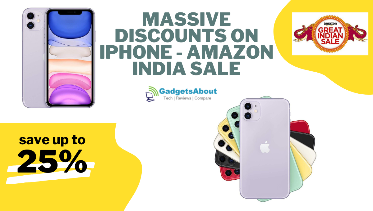 Massive discount on iphones