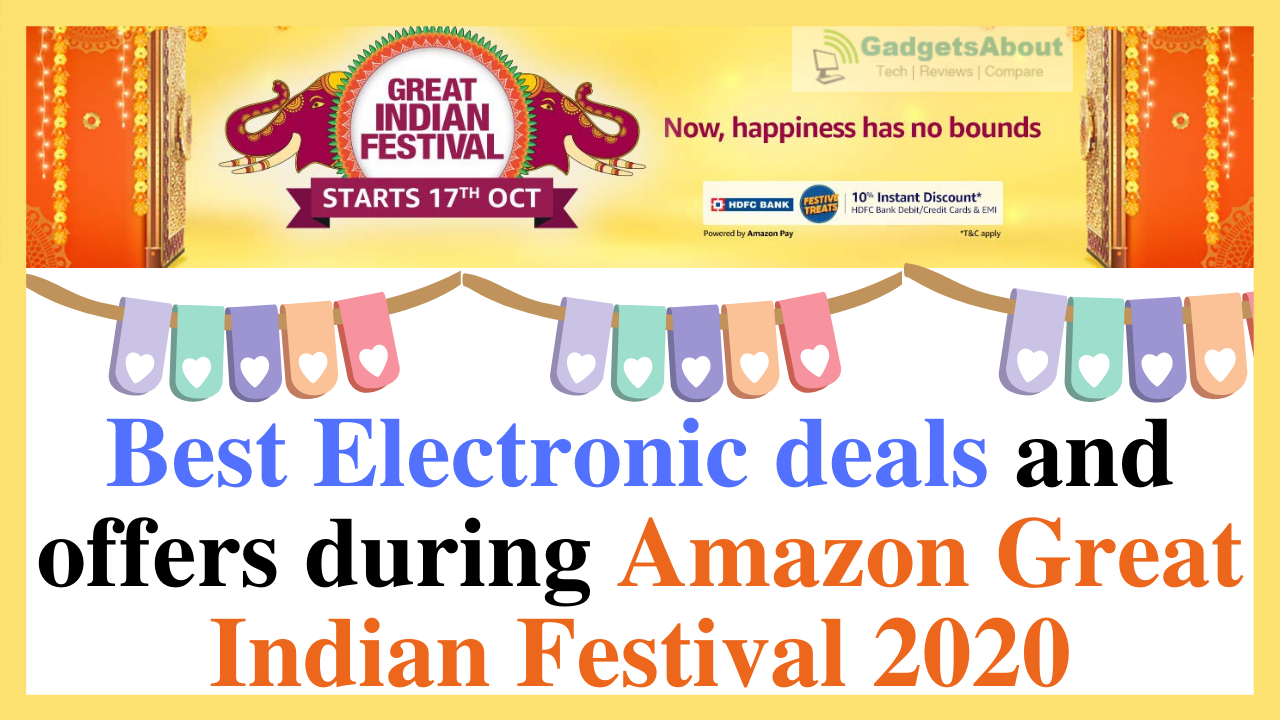 Best Electronic deals and offers