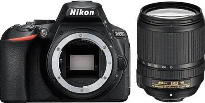 Nikon D5600 DSLR Camera Body with Single Lens: AF-S DX Nikkor 18 - 140 MM F/3.5-5.6G ED VR (16 GB SD Card)