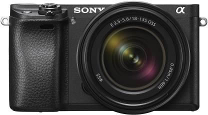 Sony Alpha 6300M Mirrorless Camera Body with 18 - 135 mm Zoom Lens