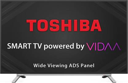 Toshiba L50 Series 108cm (43 inch) Full HD LED Smart TV with ADS Panel