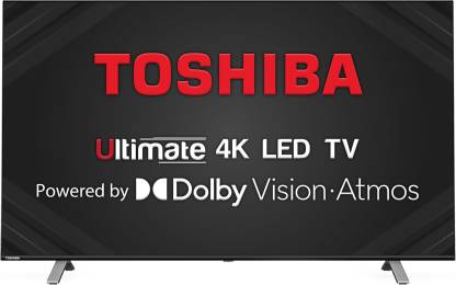 Toshiba U50 Series 126cm (50 inch) Ultra HD (4K) LED Smart TV with Dolby Vision & ATMOS