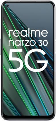 realme Narzo 30 5G (Racing Silver, 128 GB)