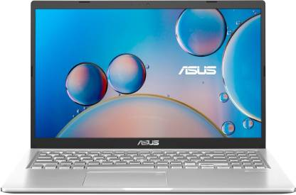 ASUS Core i3 10th Gen - (4 GB + 32 GB Optane/512 GB SSD/Windows 10 Home) X515JA-EJ372TS Thin and Light Laptop(15.6 inch, Transparent Silver, 1.80 Kg, With MS Office)