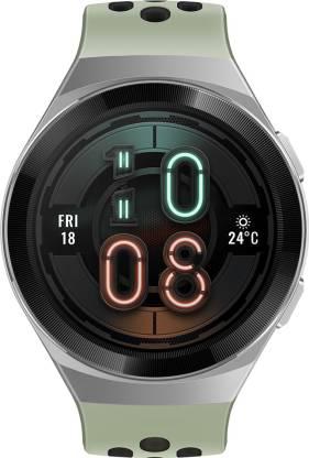 Huawei Watch GT 2e Active Smartwatch(Green Strap, Regular)