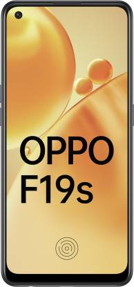 OPPO F19s (Glowing Black, 128 GB)(6 GB RAM)