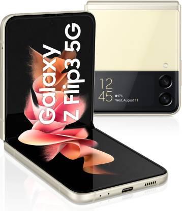 SAMSUNG Galaxy Z Flip3 5G (Cream, 256 GB)(8 GB RAM)