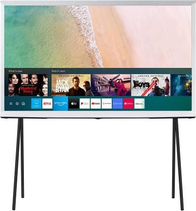 SAMSUNG The Serif Series 108 cm (43 inch) QLED Ultra HD (4K) Smart TV(QA43LS01TAKXXL)