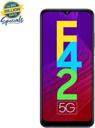 SAMSUNG Galaxy F42 5G (Matte Black, 128 GB)(8 GB RAM)